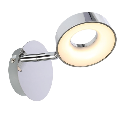 LAMPA ŚCIENNA KINKIET CANDELLUX ISLA 91-61706  LED CHROM 3000K