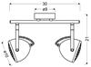 LAMPA ŚCIENNA  CANDELLUX PENT 92-68057 LISTWA  GU10 BETONOWY SZARY