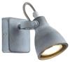 LAMPA ŚCIENNA KINKIET CANDELLUX ASH 91-64394  GU10 SZARY MAT