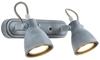 LAMPA ŚCIENNA  CANDELLUX ASH 92-64400 LISTWA  GU10 SZARY MAT
