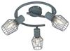 LAMPA SUFITOWA  CANDELLUX VIKING 98-68040 SPIRALA  E14 SZARY