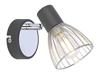 LAMPA ŚCIENNA KINKIET CANDELLUX MODO 91-61515  E14 CZARNY+CHROM