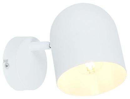 Kinkiet biały lampa ścienna metal Azuro 91-63243