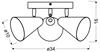 Lampa sufitowa Candellux Amor 98-68811 różowy