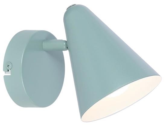 LAMPA ŚCIENNA KINKIET CANDELLUX AMOR 91-63342  E14 SZARY MAT