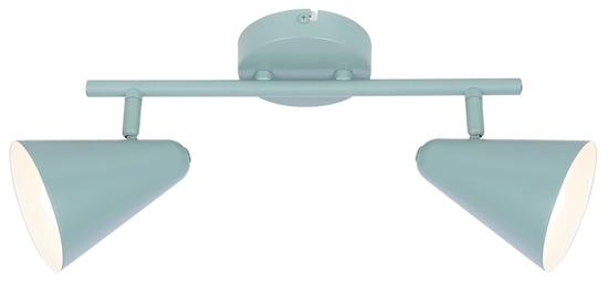 LAMPA ŚCIENNA  CANDELLUX AMOR 92-63335 LISTWA  E14 SZARY MAT