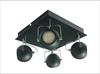 LAMPA SUFITOWA  CANDELLUX TONY 98-25036 PLAFON  LED GU10 CZARNY MATOWY