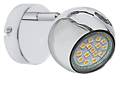 LAMPA ŚCIENNA KINKIET CANDELLUX BALT 91-60563     GU10 CHROM