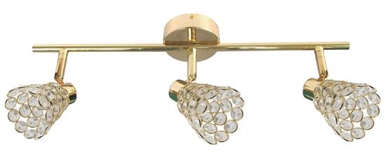 LAMPA ŚCIENNA  CANDELLUX GLOSSY 93-00453 LISTWA  G9 MOSIĄDZ