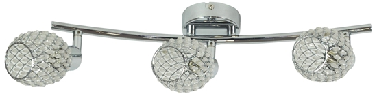 LAMPA ŚCIENNA  CANDELLUX CLEAR 93-09913 LISTWA  G9 TRANSPARENTNY