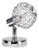 LAMPA ŚCIENNA KINKIET CANDELLUX COLLAR 91-13637 G9 CHROM