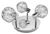 LAMPA SUFITOWA  CANDELLUX COLLAR 98-13750 PLAFON  G9 CHROM