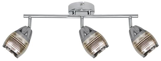 LAMPA ŚCIENNA  CANDELLUX MILTON 93-61294 LISTWA  E14 LED CHROM