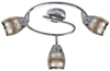 LAMPA ŚCIENNA  CANDELLUX MILTON 93-61300 SPIRALA  E14 LED CHROM