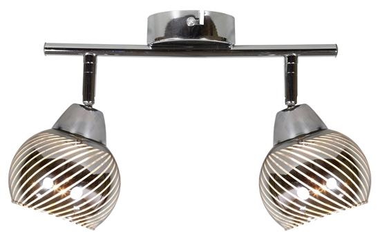 LAMPA ŚCIENNA  CANDELLUX FORT 92-62819 LISTWA  E14 LED CHROM
