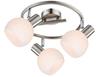 LAMPA SUFITOWA  CANDELLUX MAURO 98-61997 SPIRALA  E14 LED RGB SATYNA NIKIEL Z PILOTEM
