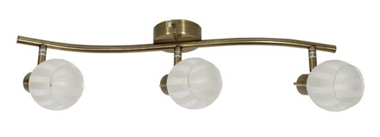 LAMPA ŚCIENNA  CANDELLUX BARS 93-06769 LISTWA  G9 PATYNA