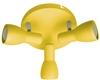 LAMPA SUFITOWA  CANDELLUX PICARDO 98-52414 PLAFON  E14 MUSZTARDOWY
