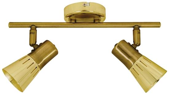 LAMPA ŚCIENNA  CANDELLUX ARENA 92-84487 LISTWA  R50 E14 ZŁOTO PATYNA