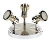 LAMPA SUFITOWA  CANDELLUX ARKON 98-60051 PLAFON  GU10 SAT NIKIEL + CHROM