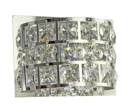 LAMPA ŚCIENNA KINKIET CANDELLUX SATURN 21-87228   G9 CHROM