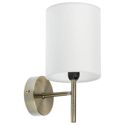 Kinkiet biały/patynowy lampa ścienna Yan 21-45386