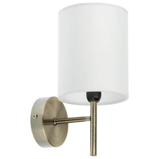 Lampa Ścienna Kinkiet Candellux Yan 21-45386 E14 Patyna