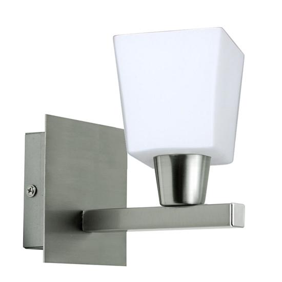 Lampa Ścienna Kinkiet Candellux Maxim 21-00408 E14 Nikiel Mat
