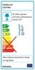 Lampa Sufitowa Candellux Pixel 10-67432 Plafon 24W Led Ip44 Chrom+Granila 3000K