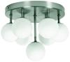 LAMPA SUFITOWA  CANDELLUX ETIUDA 97-89314 PLAFON  230V NIKIEL MAT