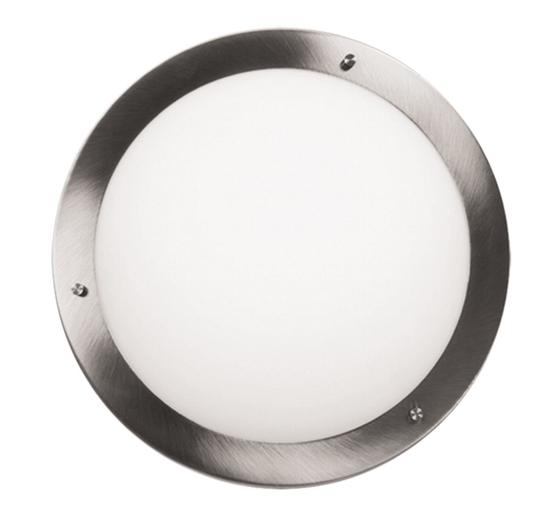 Lampa Sufitowa Candellux Aquila 12-69955 Plafon G9 Satyna Nikiel Ip44