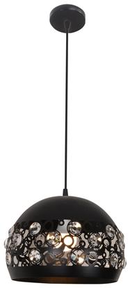 LAMPA SUFITOWA WISZĄCA CANDELLUX JOLINA 31-69696   E27 CZARNY