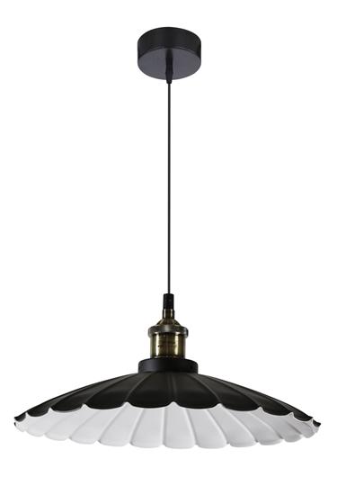 LAMPA SUFITOWA WISZĄCA CANDELLUX FLAM 31-56337   E27 CZARNY