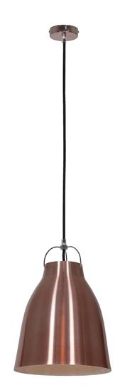 LAMPA SUFITOWA WISZĄCA CANDELLUX PENSILVANIA 31-39347  E27 MIEDZIANY