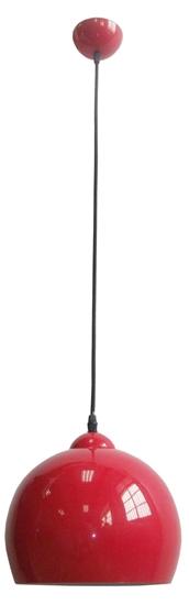 LAMPA SUFITOWA WISZĄCA CANDELLUX STUDENT 31-96640  E27 CZERWONY