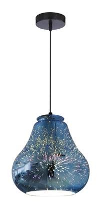 LAMPA SUFITOWA WISZĄCA CANDELLUX GALACTIC 31-56108  E27 3D