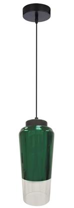 LAMPA SUFITOWA WISZĄCA CANDELLUX TUBE 31-51264   E27 ZIELONY