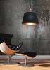 Lampa sufitowa wisząca żyrandol czarny stożek Amore Candellux 31-39378