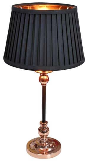 Lampa Stołowa Gabinetowa Candellux Amore 41-38777 E27 Stożek Czarny
