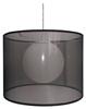 LAMPA SUFITOWA WISZĄCA CANDELLUX CHICAGO 31-24879   E27 CZARNY