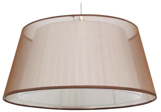 LAMPA SUFITOWA WISZĄCA CANDELLUX CHARLIE 31-24794   E27 BRĄZOWY