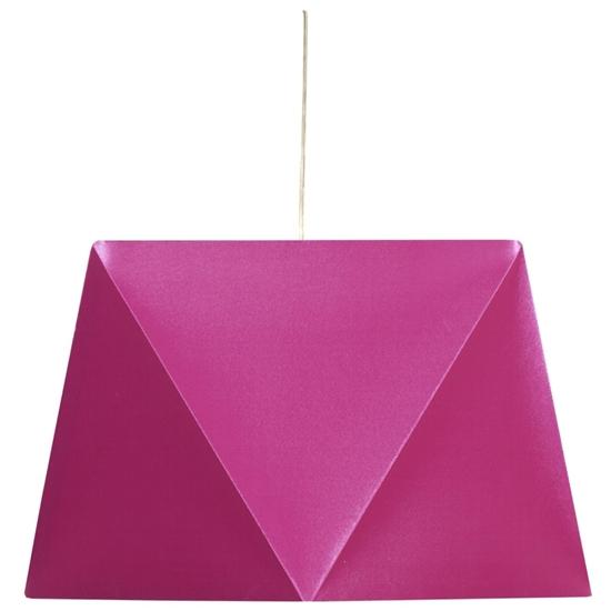 LAMPA SUFITOWA WISZĄCA CANDELLUX HEXAGEN 31-03638   E27 RÓŻOWY