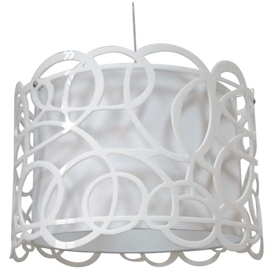 LAMPA SUFITOWA WISZĄCA CANDELLUX IMAGINE 31-21472   E27 BIAŁY