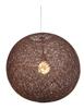 LAMPA SUFITOWA WISZĄCA CANDELLUX CARUBA 31-26906  E27 BRĄZOWY