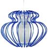 LAMPA SUFITOWA WISZĄCA CANDELLUX IMPERIA 31-36561  E27  DUŻA NIEBIESKA PROMOCJA