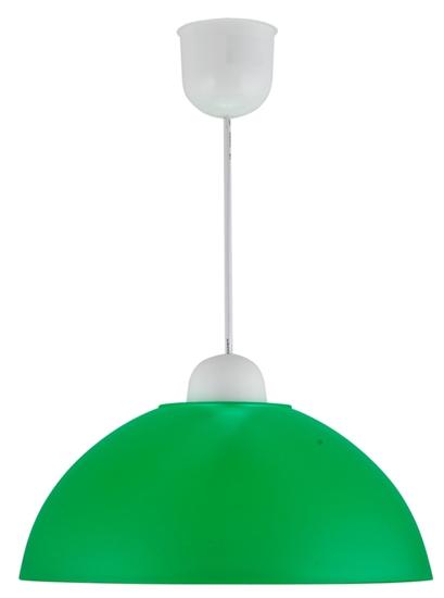 LAMPA SUFITOWA WISZĄCA CANDELLUX MIKA 31-18635 PLASTIK E27  ZIELONY PROMOCJA
