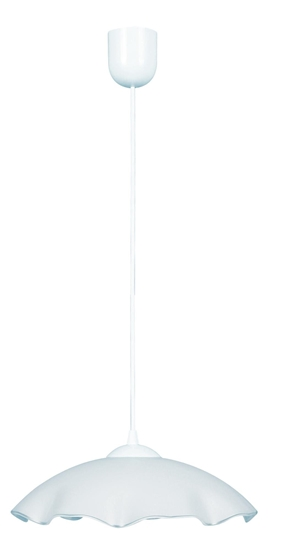 LAMPA SUFITOWA WISZĄCA CANDELLUX DAMA 31-61785    E27 BIAŁY