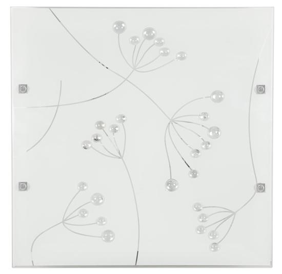 Lampa Sufitowa Candellux Arty 10-61027 Plafon 16W Led Kryształki 6500K