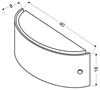Lampa Sufitowa Candellux Fuzo 10-61195 Plafon E27 Kryształki