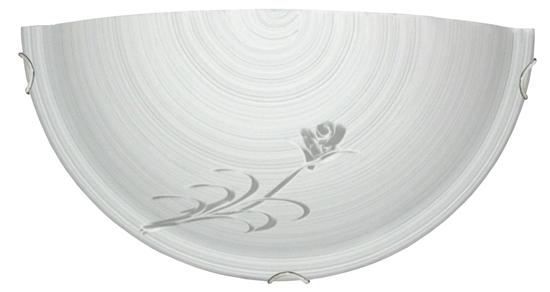 Lampa Sufitowa Plafon Candellux Orchid Plafon 1/2 1X60W E27